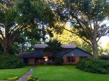 Piękny amerykanina dom fotografia royalty free