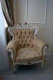 Piękny antykwarski stary siedzenie Zdjęcia Royalty Free