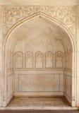 Piękny architektoniczny i projekt pokaz przy Diwan-i-Khas Agra fort Zdjęcie Royalty Free