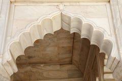 Piękny architektoniczny pokaz przy Diwan-i-Khas Agra fort Obrazy Stock