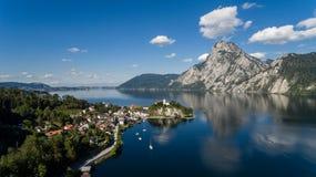 Piękny austriaka krajobraz zdjęcia royalty free
