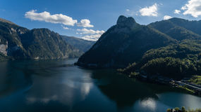 Piękny austriaka krajobraz obraz royalty free