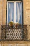 Piękny barokowy balkonowy bardzo stary Obraz Royalty Free