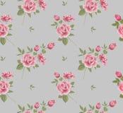 Piękny bezszwowy kwiecisty wzór, kwiatu wektor Ilustracji