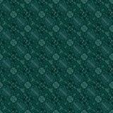 Piękny bezszwowy wschodni dywanowy dekoracja wzór, abstrakcjonistyczny ornament elementy, round, kwadratowi i rhombus Tekstury ba Obrazy Stock