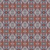 Piękny bezszwowy wschodni dywanowy dekoracja wzór, abstrakcjonistyczny ornament elementy, round, kwadratowi i rhombus Tekstury ba Obrazy Royalty Free