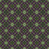 Piękny bezszwowy wschodni dywanowy dekoracja wzór, abstrakcjonistyczny ornament elementy, round, kwadratowi i rhombus Tekstury ba Fotografia Stock