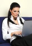 piękny bizneswoman Obrazy Stock