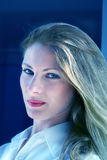 piękny bizneswoman Zdjęcia Royalty Free