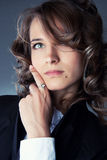 piękny bizneswoman Fotografia Royalty Free