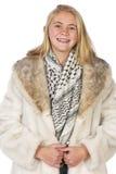 Piękny blond nastoletni Zdjęcie Stock