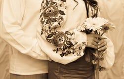Piękny bridal bukiet Fotografia Royalty Free