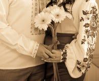 Piękny bridal bukiet Obrazy Stock