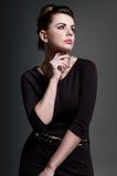 Piękny brunetka portret Obraz Stock
