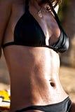 Piękny brzuch Zdjęcia Royalty Free