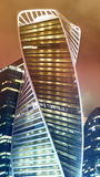 Piękny budynku drapacz chmur Zdjęcia Stock
