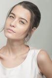 Piękny caucasian dziewczyna portret Fotografia Stock