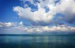piękny chmur morza niebo Obrazy Stock