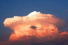 piękny chmura zmierzch Obrazy Stock