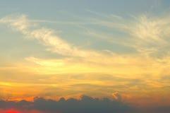 Piękny cloudscape Fotografia Stock