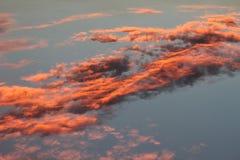Piękny clound i kolorowy niebo Fotografia Royalty Free