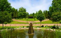 Piękny cmentarz Obraz Royalty Free