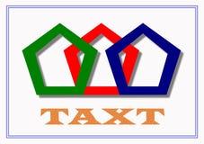 Piękny cyfrowy logo i graficzna sztuka Obraz Royalty Free