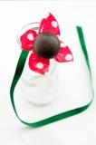 Piękny czekoladowy kij Fotografia Stock