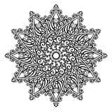 Piękny Deco mandala (wektor) Zdjęcia Royalty Free