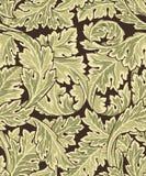 piękny deseniowy rokokowy bezszwowy Obrazy Royalty Free