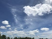 Piękny dnia niebo Zdjęcie Stock