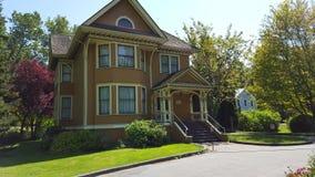 piękny dom Obrazy Royalty Free