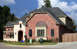 piękny dom mieszkaniowy Fotografia Royalty Free