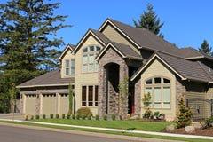 piękny dom rodzinny Obrazy Royalty Free