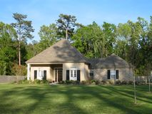 piękny dom rodzinny Fotografia Stock