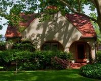 piękny dom starego zdjęcie royalty free