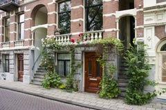 Piękny dom w Amsterdam Zdjęcia Royalty Free