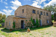 Piękny dom wiejski Zdjęcia Royalty Free
