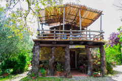 Piękny dom wiejski Zdjęcie Royalty Free