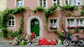 piękny domowy stary rothenburg Fotografia Royalty Free