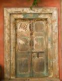 piękny drzwiowy drewniany Zdjęcie Royalty Free