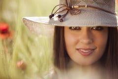 Piękny dziewczyna portret Fotografia Royalty Free