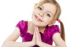 Piękny dziewczyny dziecko Zdjęcie Royalty Free