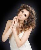 piękny dziewczyny portreta studio Fotografia Royalty Free