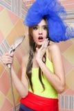 piękny dziewczyny prysznic zabranie Zdjęcia Stock
