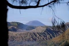 Piękny góra Bromo zdjęcia stock