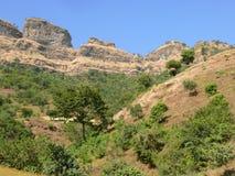 Piękny góra krajobraz w Etiopia. Afryka. Obrazy Royalty Free