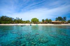 piękny gili Indonesia meno morze Obrazy Royalty Free