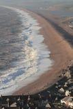 Piękny Gniewny morze Zdjęcie Royalty Free