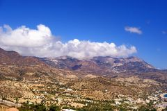 Piękny Greece, cudowna wyspa Obrazy Royalty Free